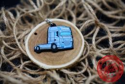 Blue Daf Porte Clés - Transports Fischer