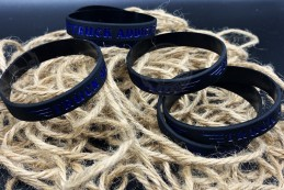 Bracelet Truck Addict Noir & Bleu