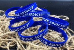 Bracelet Truck Addict Bleu & Blanc
