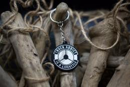 Porte clés Truck Addict® - Noir & Blanc
