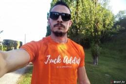 T-shirt Homme Modern Trucker - Orange