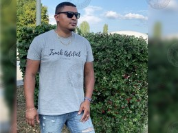 T-shirt Homme Modern Trucker - Gris