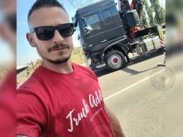 T-shirt Homme Modern Trucker - Rouge